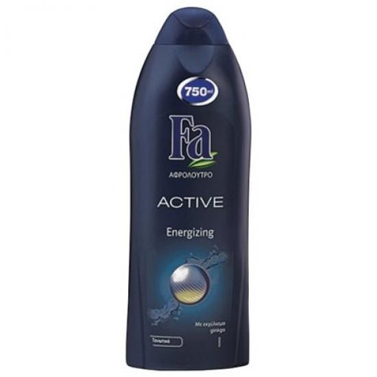 (-1+1)FA 750ML FOAM BATH ACTIVE ENERGIZING
